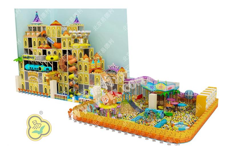 山西定制城堡主题儿童乐园