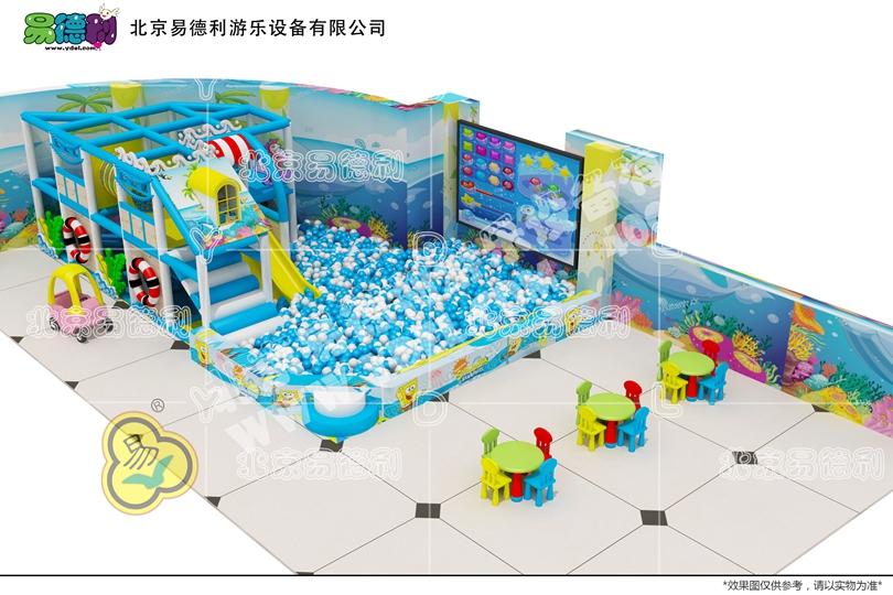 微型儿童乐园游乐场设备6