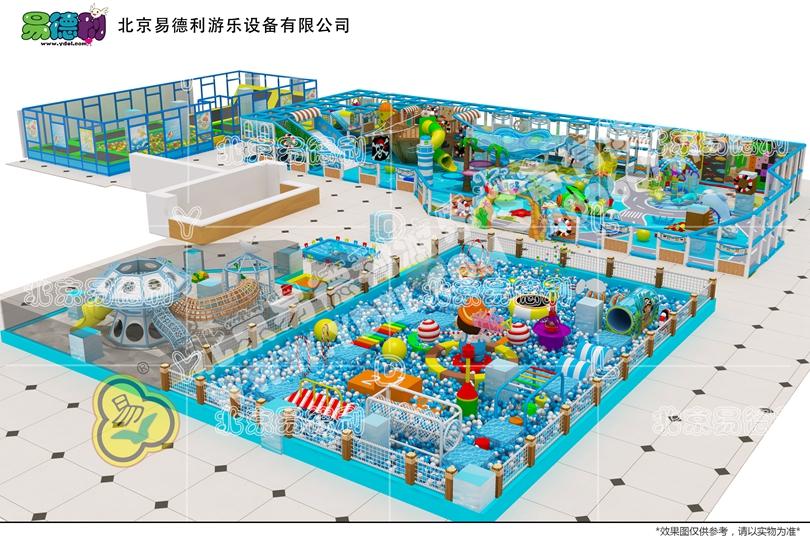 安徽阜阳海洋系列淘气堡设备