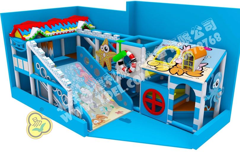 小型幼童室内游乐园设备5