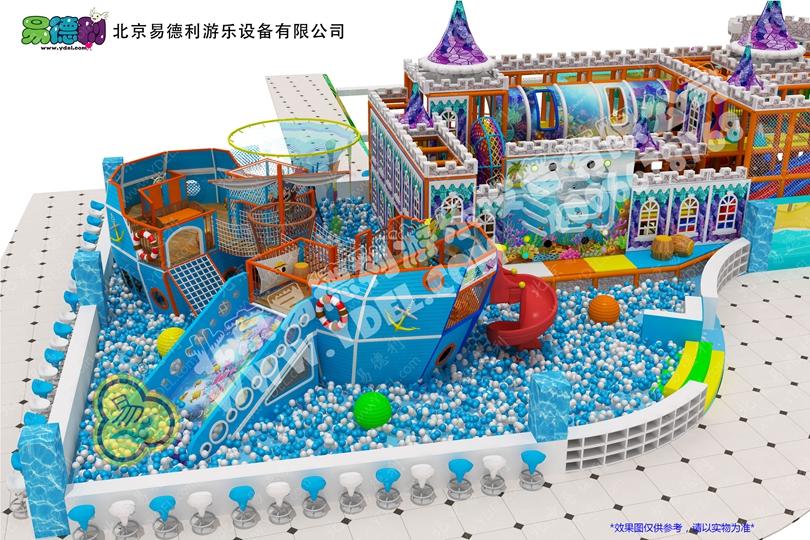 城堡主题定制淘气堡儿童乐园