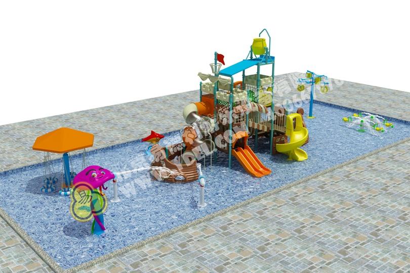 室内水上乐园游乐场滑梯一