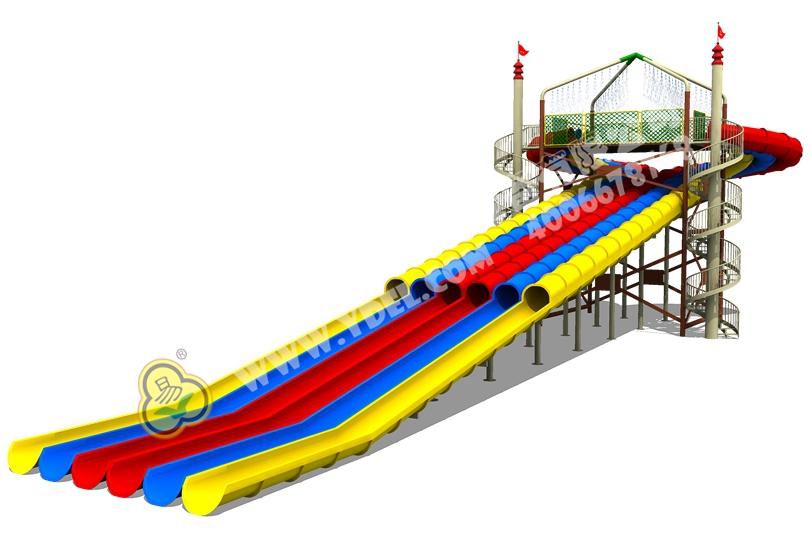 儿童户外水上滑梯三