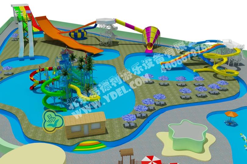 水上休闲娱乐乐园设计规划