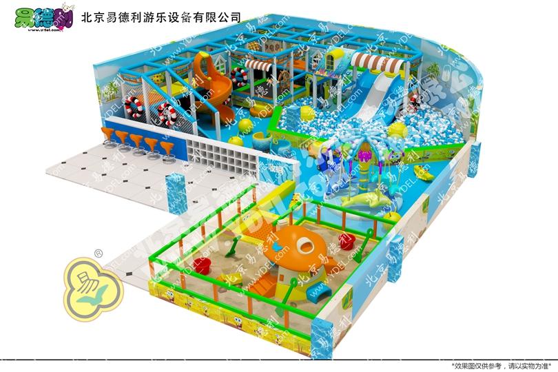 甘肃玉门海洋系列淘气堡设备