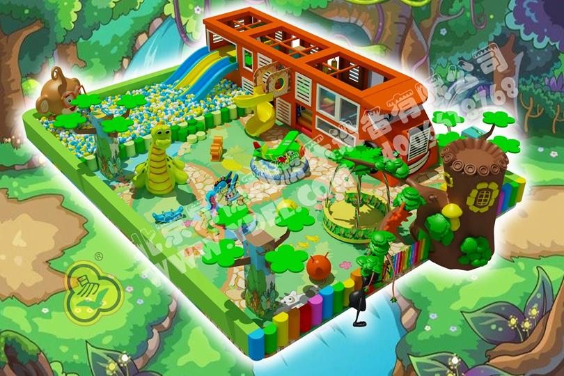 微型室内儿童游乐园2