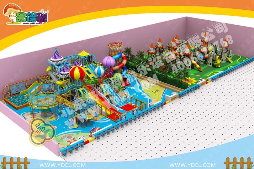 主题城堡儿童游乐场设备