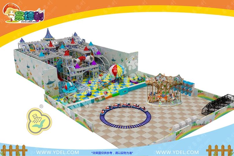 魔幻城堡系列儿童乐园设备