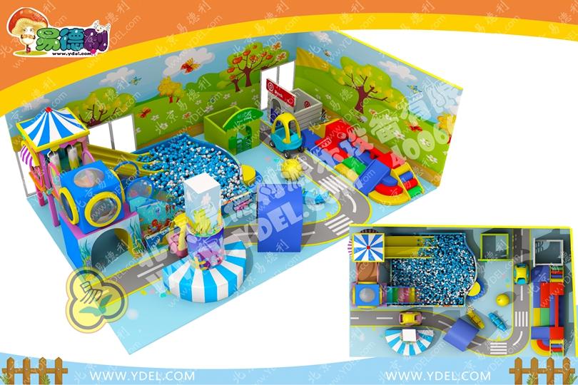 微型室内儿童游乐园1