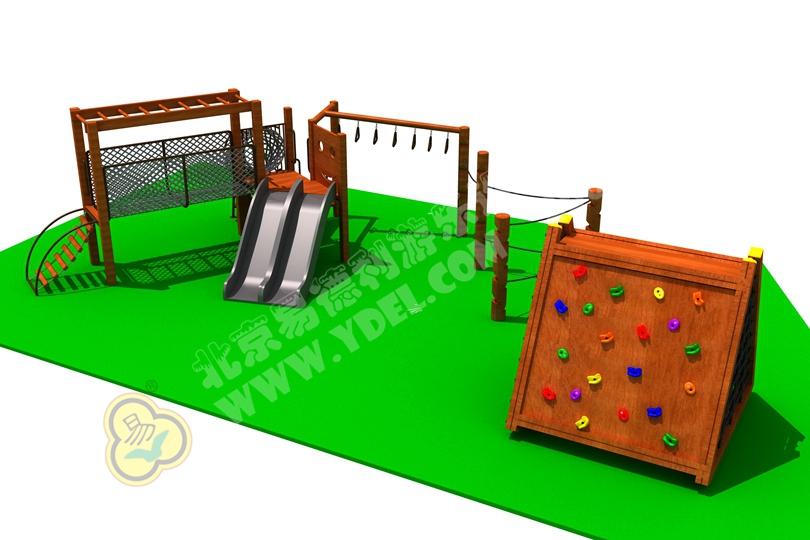 幼儿园户外组合滑梯游乐场