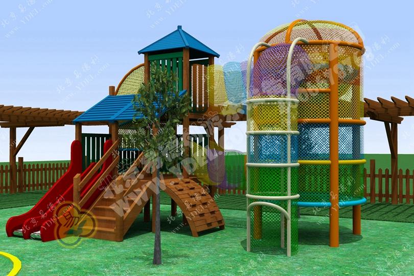 幼儿园爬网乐园设备