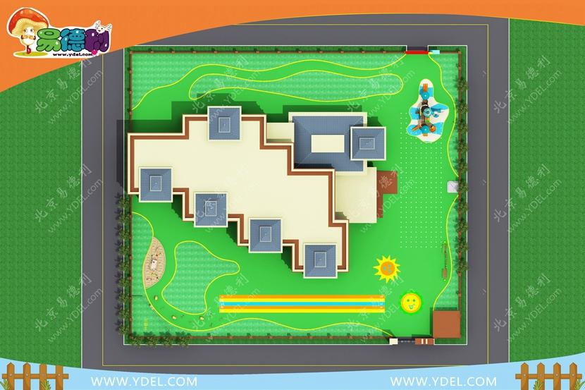 幼儿园游乐场地规划