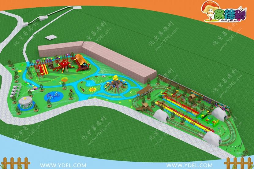 校园户外游乐设备整体规划