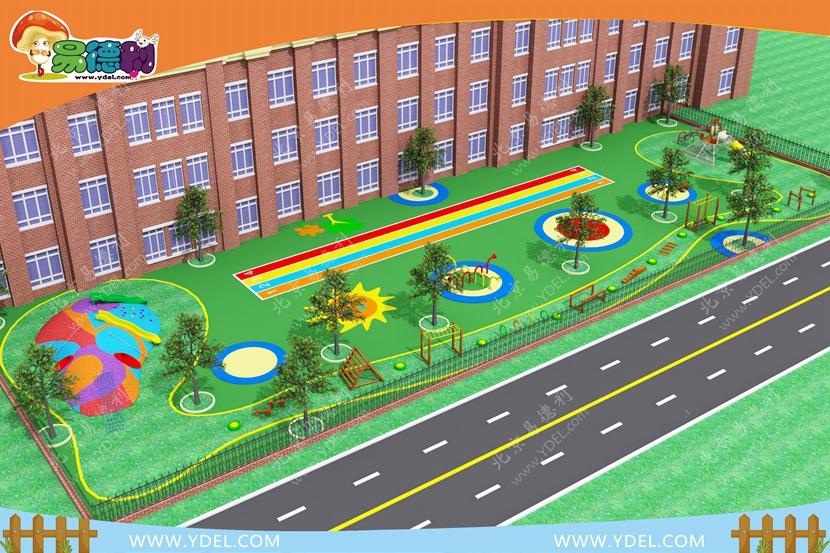 幼儿园户外设备落地规划