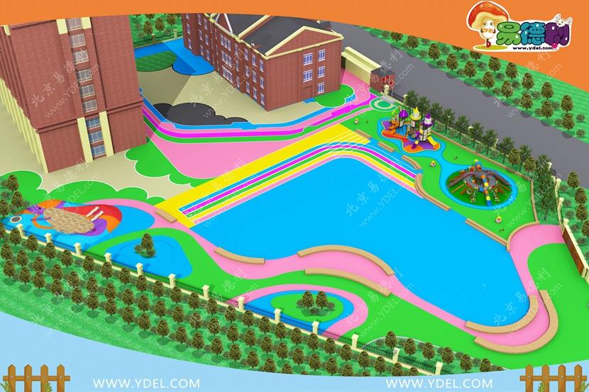 幼教户外游乐设备规划