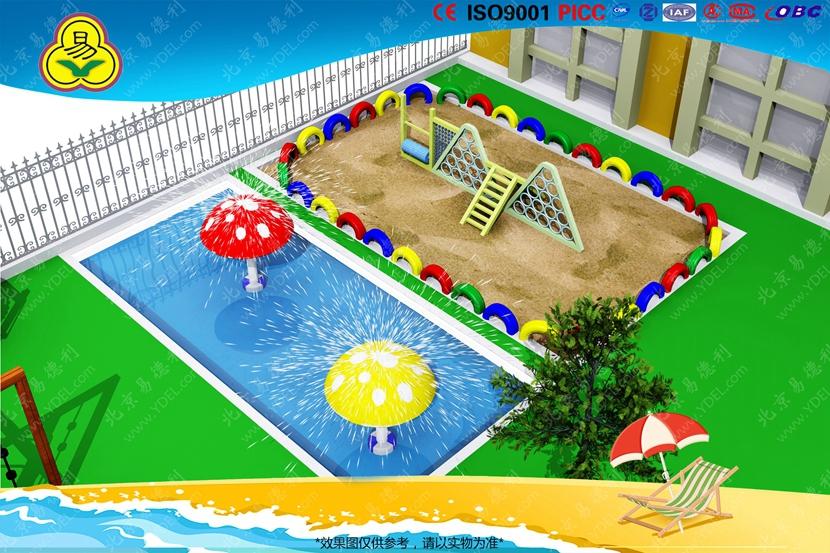 幼儿园户外游乐场规划
