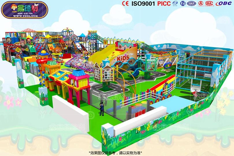 城堡主题儿童游乐世界