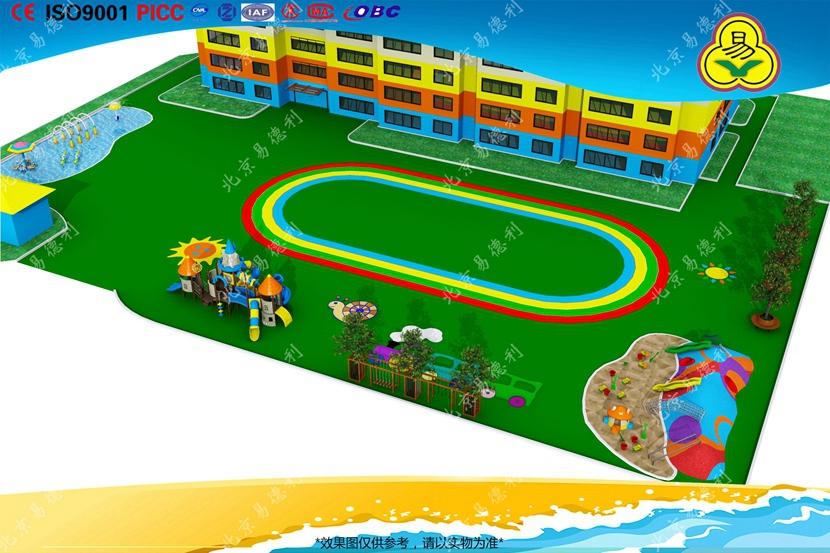 幼儿园户外设备整体规划