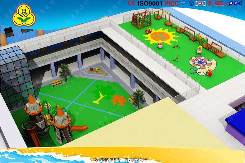 幼儿园户外整体规划