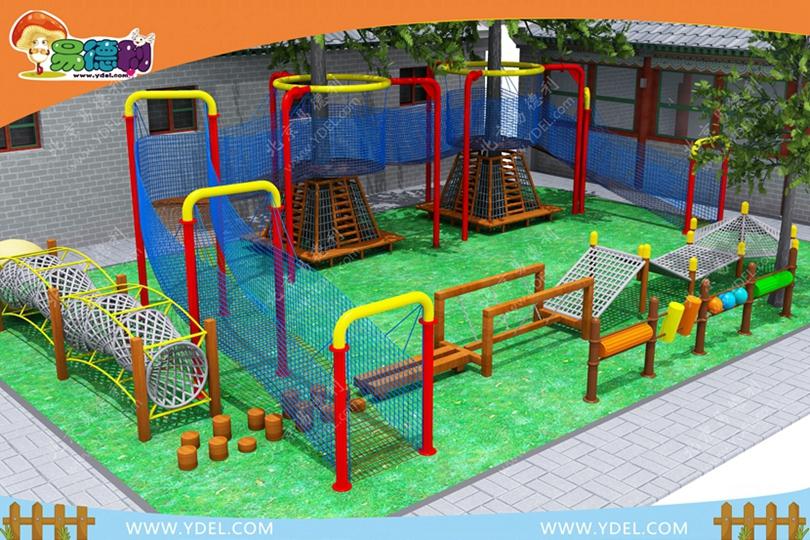 幼儿园户外网绳乐园拓展设备