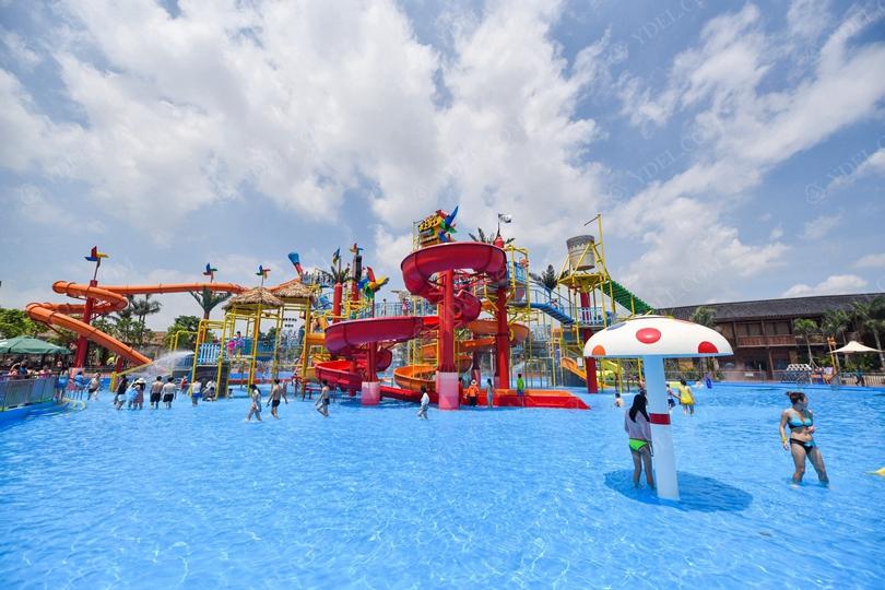 大型水上乐园游乐设备整体设计