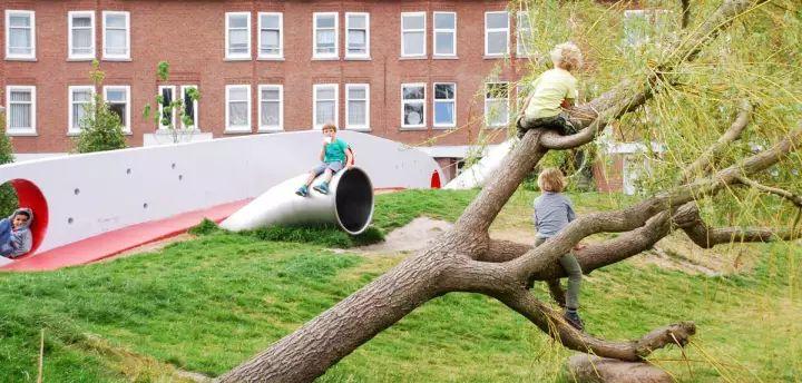 这才是儿童游乐场景观设计的最新打开方式!_31