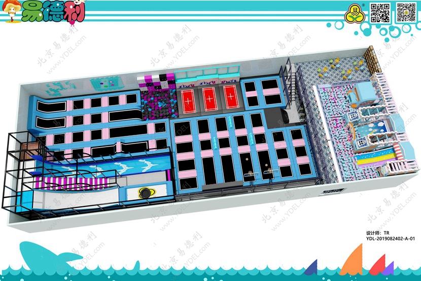 BCGY-18多功能蹦床设备