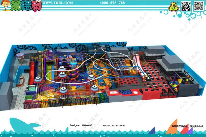 BCGY-21室内蹦床公园