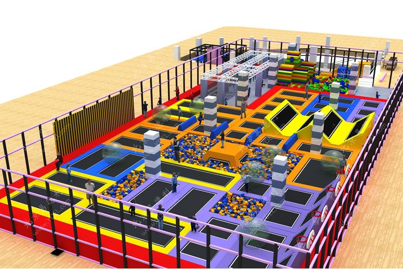 BCGY-04儿童室内蹦床公园