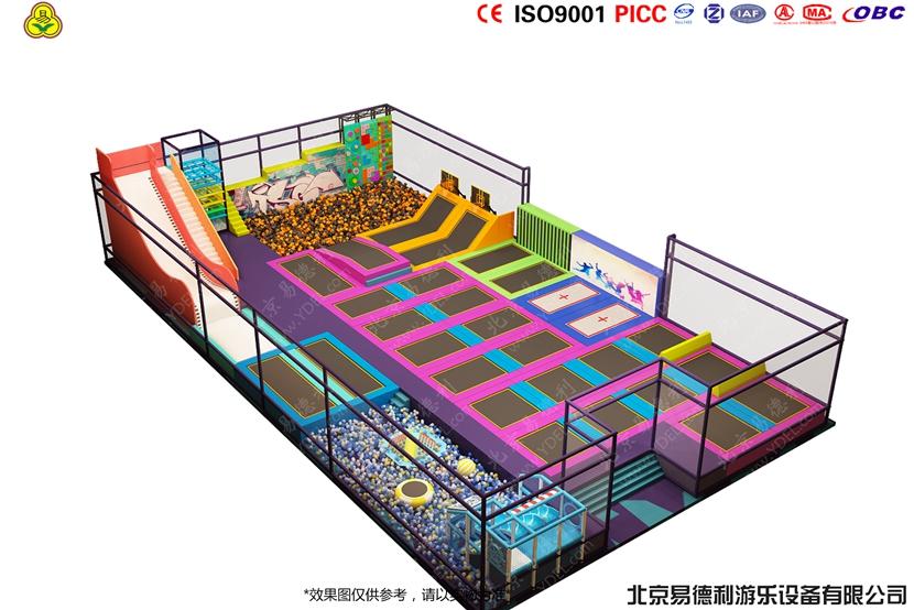 BCGY-11蹦床项目 - 粘粘乐
