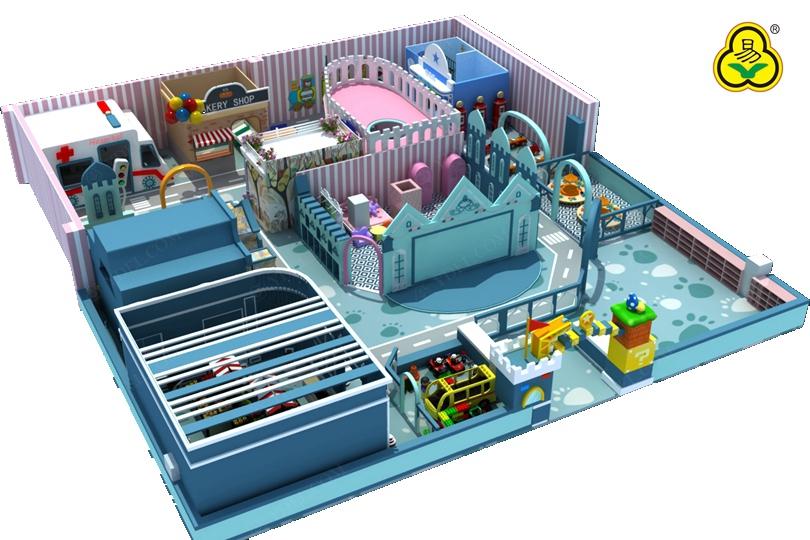 室内体验乐园淘气堡设备