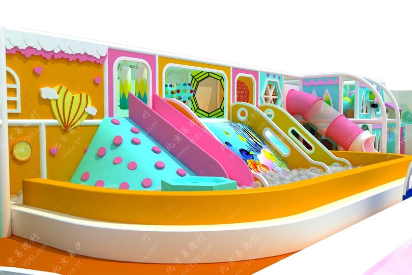 小型室内儿童淘气堡设备