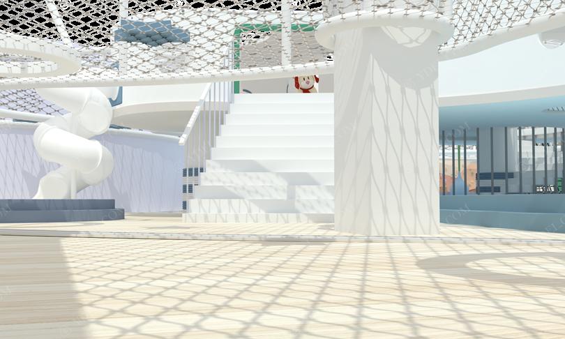 室内乐园淘气堡内部结构图