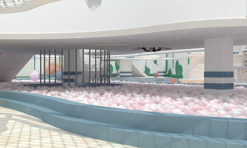 室内乐园淘气堡海洋球池