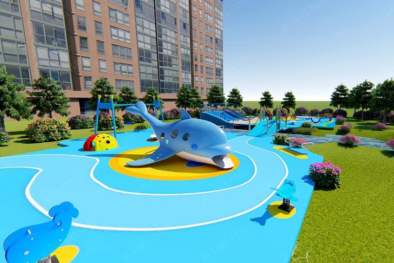 户外公园儿童游乐场设备