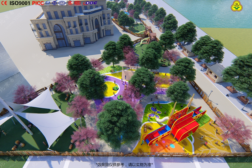 户外文化公园整体规划设计