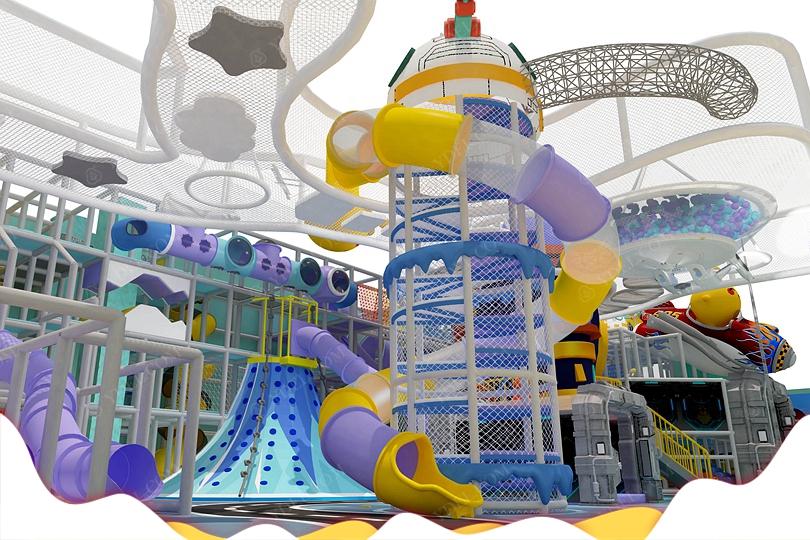 TQB-845室内儿童淘气堡乐园