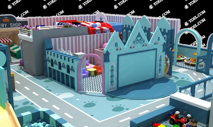 亲子餐厅淘气堡图片展示