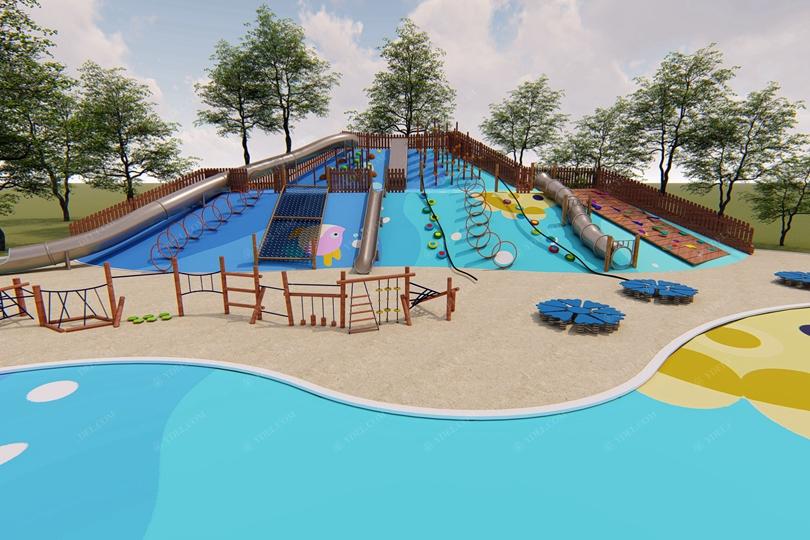 城市公园游乐设备规划