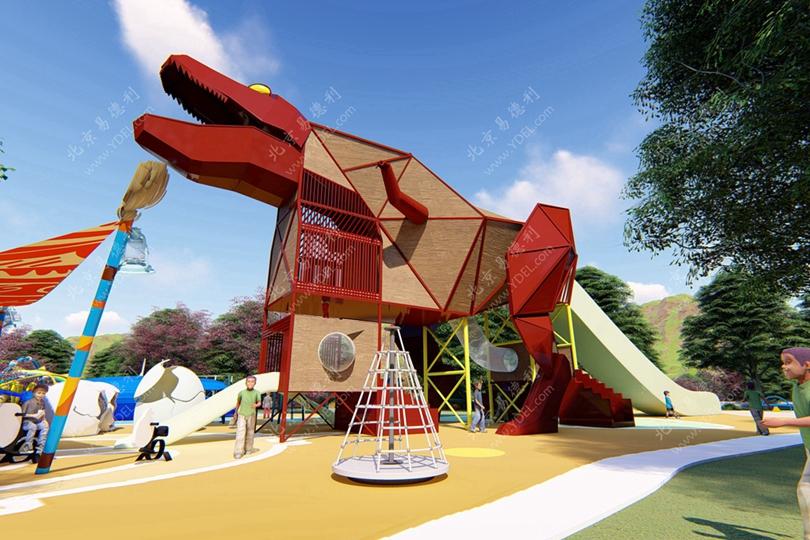 桂林户外游乐场非标定制游乐设备