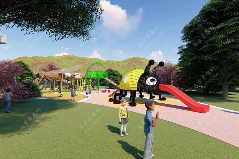 山东户外儿童游乐园非标定制设备