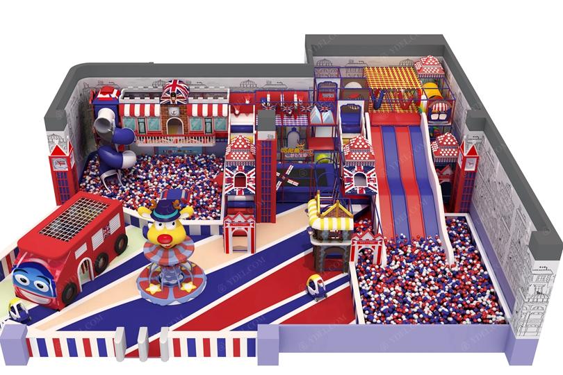 英伦主题儿童乐园设备