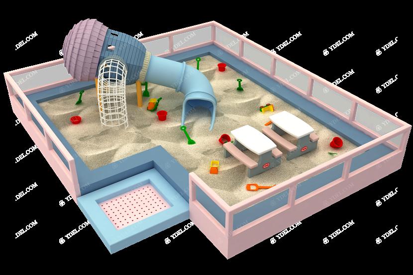 儿童沙池系列淘气堡设备