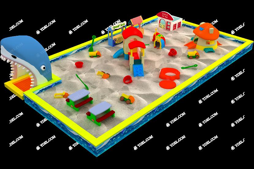 室内淘气堡沙池儿童乐园