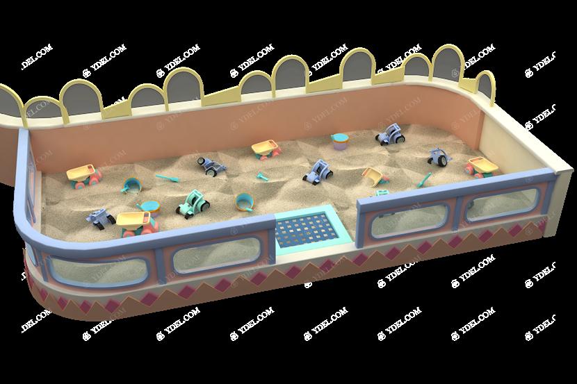 小童沙池系列淘气堡设备