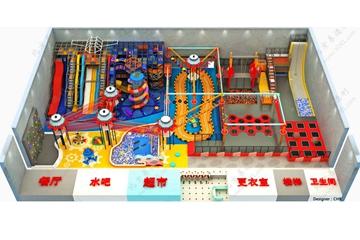 北京新型室内儿童运动公园