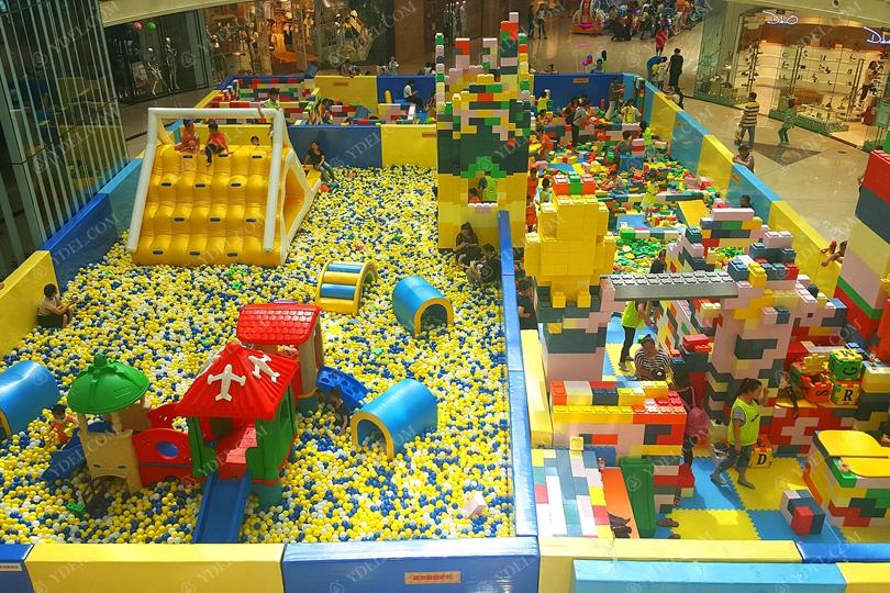 儿童积木乐园空间游乐场设备