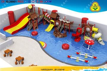 室内水乐园滑梯设计