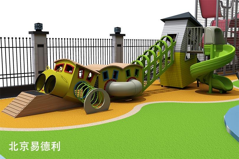 幼儿园滑梯设备